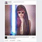 原力覺醒!換上最新 Facebook 星際大戰「光劍」大頭貼照