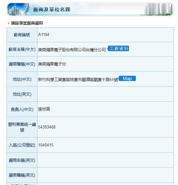 Hisnzhu-science-park-apple-list