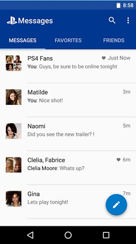 PlayStation Messages App_techbang121001