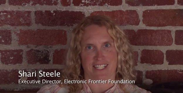 Shari Steele, Executive Director of the Electronic Frontier Founda