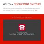 Wolfram Development Platform (Open Cloud)