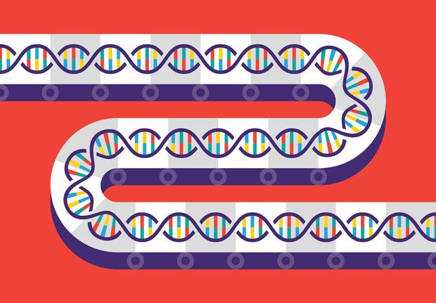 DNA 製造已經進入了大量生產的時代