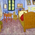 芝加哥藝術學院數位改造,梵谷名畫《在亞爾的臥室》重現風采