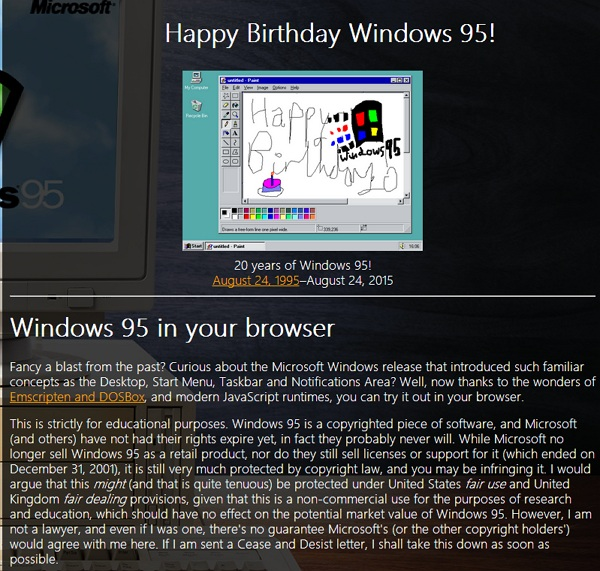 windows 95 in your browser_techbang0201