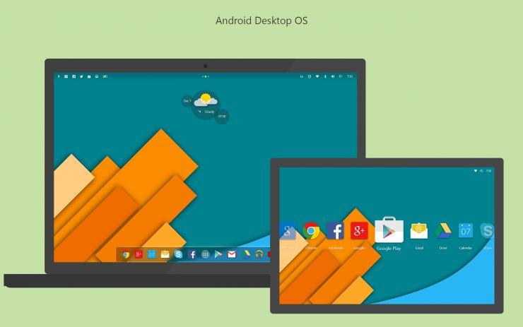 Google desktop OS