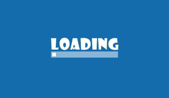 Web-page-loading