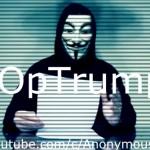 駭客組織匿名者宣戰,二度要川普閉嘴