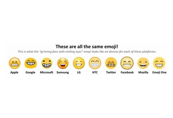 emoji different 2