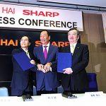 鴻海收購夏普正式簽約 郭台銘:全球高科技產業最棒的一天!