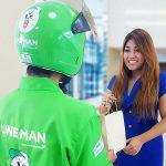LINE 首次在泰國推出 O2O 外送服務「LINE MAN」