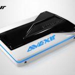 全球首顆發光 SSD,宇帷 AVEXIR S100 系列 SSD 要讓玩家主機有生命