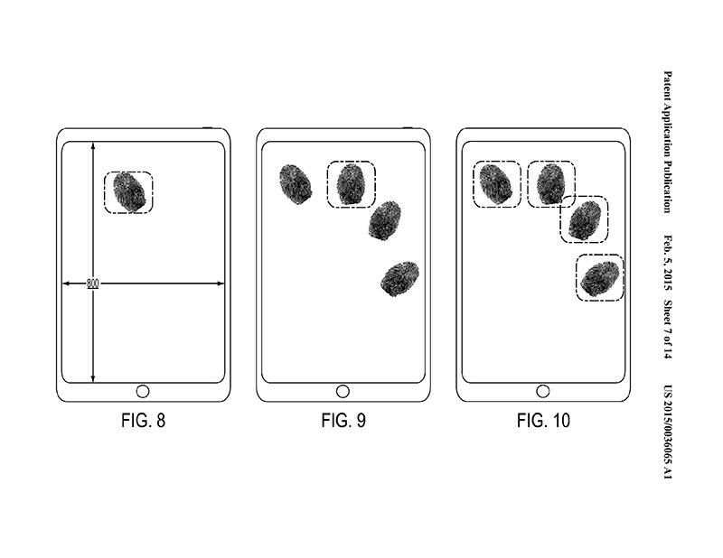 蘋果面板指紋辨識專利到齊,Home 鍵消失的日子不遠矣