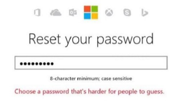 password ban