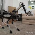波士頓動力機器人 SpotMini 亮相,添加機器手臂打理家務