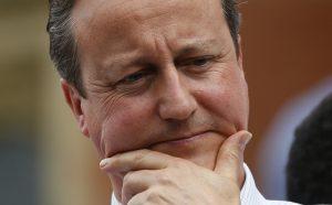 """達志影像不得重複使用!!! Britain's Prime Minister David Cameron gestures as he speaks at a """"Britain Stronger in Europe"""" rally at Birmingham University in Birmingham, Britain June 22, 2016. REUTERS/Andrew Yates   - RTX2HN2R"""