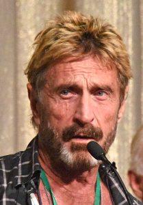 john mcafee(wikipedia)