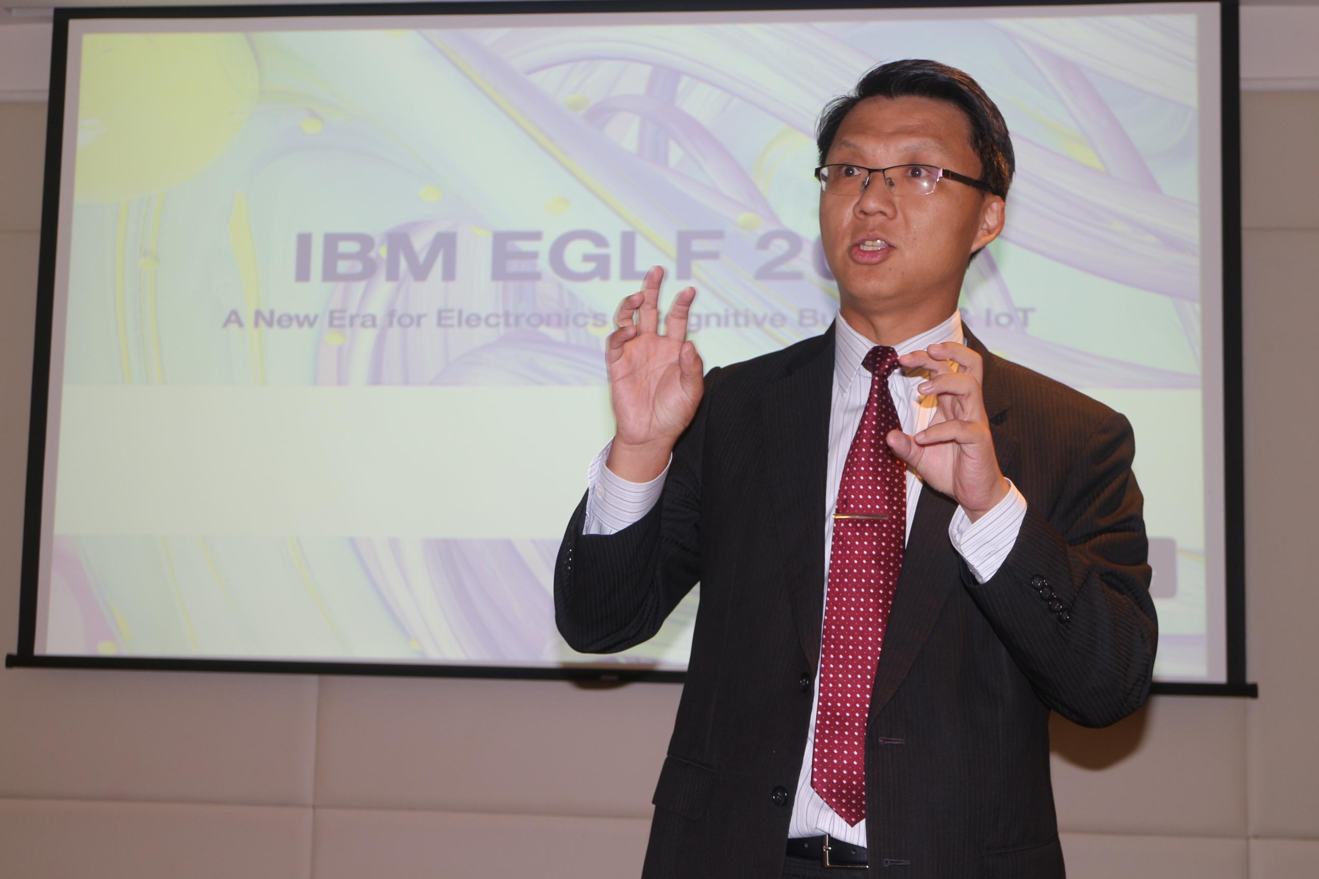 台灣 IBM 全球企業諮詢服務事業群總經理賈景光