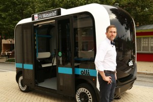 Local Motors CEO and co-founder John B. Rogers, Jr. introduces Olli