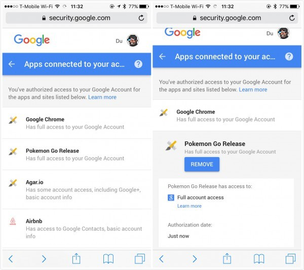 Pokémon Go 技術問題尷尬不斷:為何要「強奪」Google 帳號的完整權限