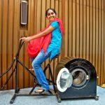 在 14 歲這年,一名印度女孩發明了靠腳踏車踏板運作的洗衣機