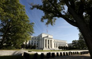 The Federal Reserve headquarters in Washington September 16 2015. The Federal Reserve, facing this week its biggest policy decision yet under Chair Janet Yellen, puts its credibility on the line regardless of whether it waits or raises interest rates for the first time in nearly a decade.       REUTERS/Kevin Lamarque  - RTS1E7S
