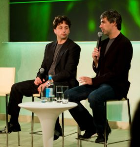 larry page and serget brin(Flickr)