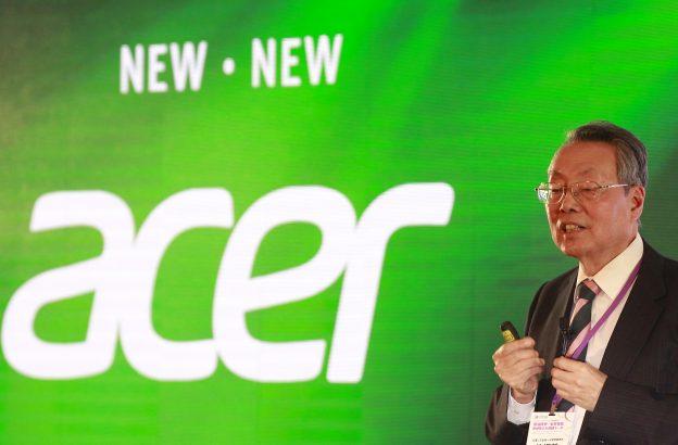 下載自路透 Acer founder and honorary chairman Stan Shih delivers a speech during the 2015 Computex exhibition in Taipei, Taiwan, June 3, 2015. Computex, the world's second largest computer show, runs from June 2 to 6. REUTERS/Pichi Chuang  - RTR4YKVL