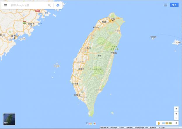 2016-Google-Maps-Taiwan