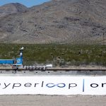 下載自路透 A sled recovery vehicle moves a test sled back to the starting position following a propulsion open-air test at Hyperloop One in North Las Vegas, Nevada, U.S. May 11, 2016. REUTERS/Steve Marcus - RTX2DWEO