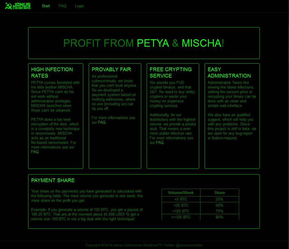 Petya-Mischa-Ransomware