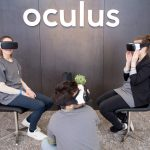 下載自美聯社 Facebook-Mitarbeiter mit der Virtual Reality-Brille von Oculus am 25.02.2016 in Berlin im Facebook Innovation Hub. Photo by: Kay Nietfeld/picture-alliance/dpa/AP Images