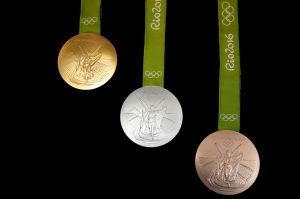 下載自路透 The Rio 2016 Olympic medals are pictured at the  Casa da Moeda do Brasil (Brazilian Mint) in Rio de Janeiro, Brazil, June 28, 2016.  REUTERS/Sergio Moraes - RTX2IRUB