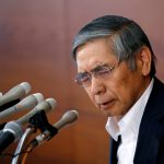 Bank of Japan (BOJ) Governor Haruhiko Kuroda attends a news conference at the BOJ headquarters in Tokyo, Japan, July 29, 2016. REUTERS/Kim Kyung-Hoon - RTSK7P1