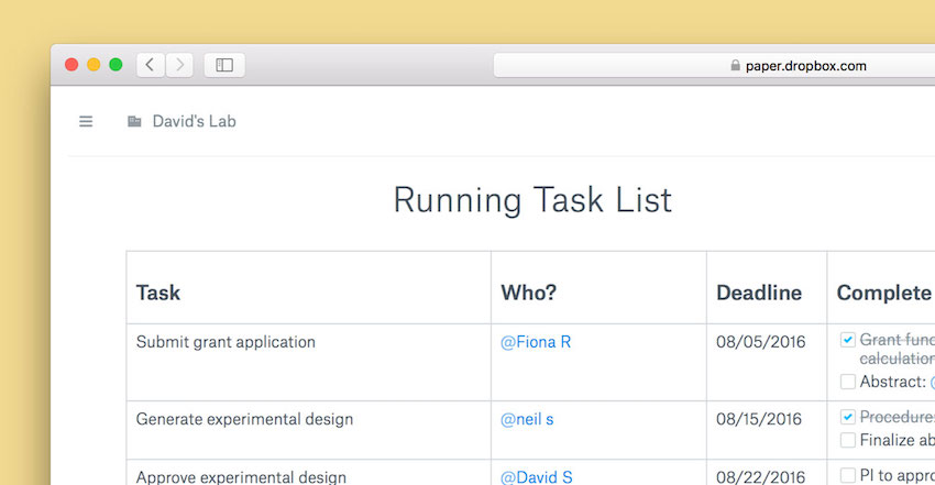 Dropbox-Paper-beta_task-list