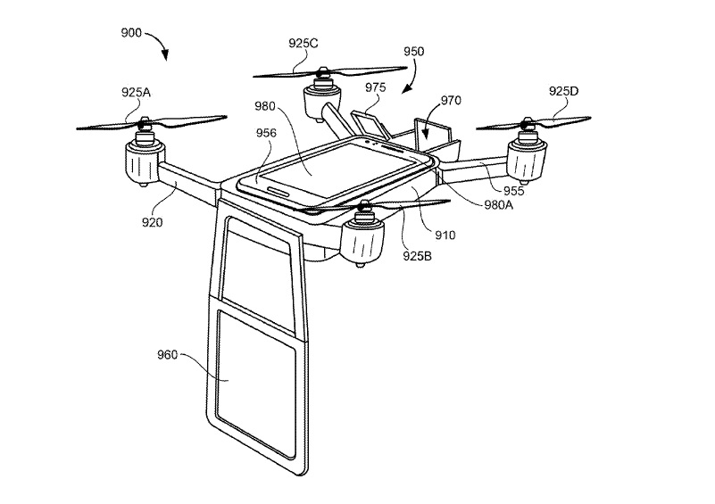 Google projection drone 2