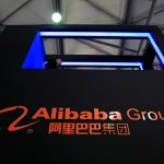 下載自路透 A sign of Alibaba Group is seen at CES (Consumer Electronics Show) Asia 2016 in Shanghai, China, May 12, 2016. REUTERS/Aly Song/File Photo - RTSFYKR