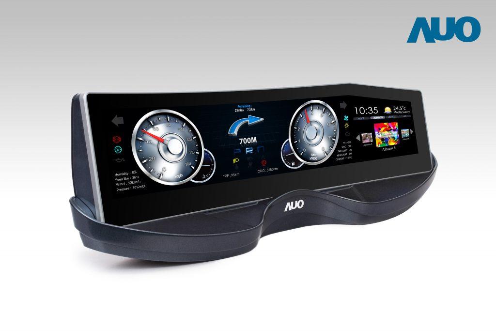 AOU-2友達25吋超寬螢幕曲面車用面板