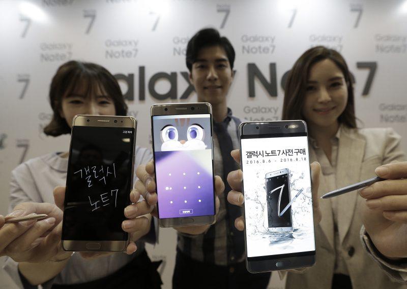 三星 Note 7 設計時尚的代價:修理不易,電池螢幕難換