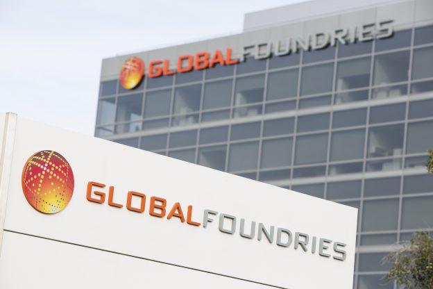 下載自美聯社 The headquarters of computer chip maker GlobalFoundries in Santa Clara, California on January 1, 2014. Photo Credit: Kristoffer Tripplaar/ Sipa USA