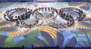 下載自路透 2016 Rio Olympics - Closing ceremony - Maracana - Rio de Janeiro, Brazil - 21/08/2016. Performers take part in the closing ceremony.    REUTERS/Fabrizio Bensch  TPX IMAGES OF THE DAY FOR EDITORIAL USE ONLY. NOT FOR SALE FOR MARKETING OR ADVERTISING CAMPAIGNS.   - RTX2MGHX
