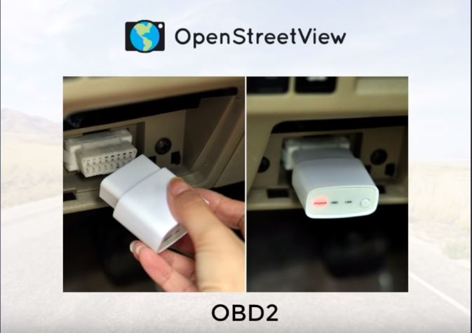 OpenStreetView-OBD2