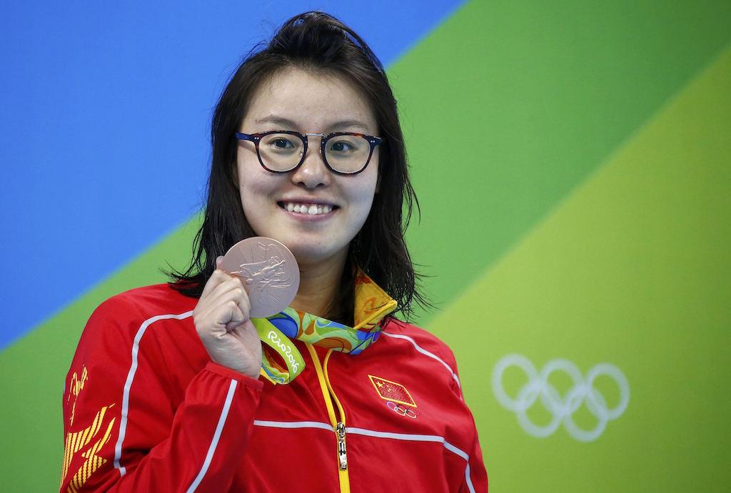 (圖片來源:達志影像/路透社;不得轉載重覆使用)2016 Rio Olympics - Swimming  - Women