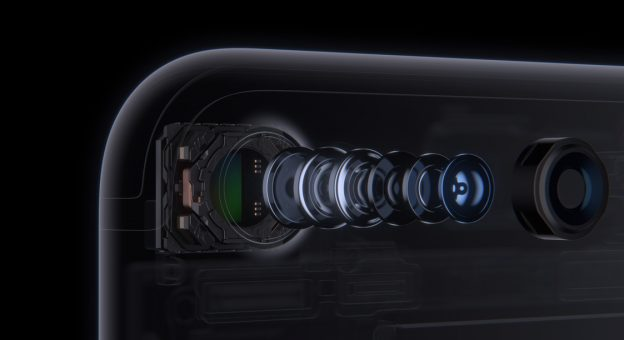 iPhone 7 lens