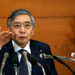 Bank of Japan (BOJ) Governor Haruhiko Kuroda attends a news conference at the BOJ headquarters in Tokyo, Japan, September 21, 2016.  REUTERS/Toru Hanai TPX IMAGES OF THE DAY      - RTSOPR2