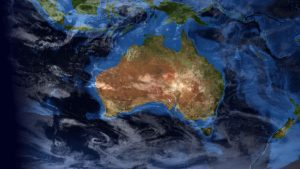 Australian Map Space View