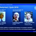 下載自路透 A screen showing pictures of the winners of the 2016 Nobel Prize for Physics during a news conference by the Royal Swedish Academy of Sciences in Stockholm, Sweden October 4, 2016. From left: David Thouless, Duncan Haldane and Michael Kosterlitz.   TT News Agency/Anders Wiklund/via REUTERS       ATTENTION EDITORS - THIS IMAGE WAS PROVIDED BY A THIRD PARTY. FOR EDITORIAL USE ONLY. SWEDEN OUT. NO COMMERCIAL OR EDITORIAL SALES IN SWEDEN. NO COMMERCIAL SALES. - RTSQO9C