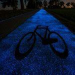 會發光的自行車道在波蘭誕生,兼具美觀與實用性