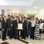 日月光高雄廠獲 ISO 28000 供應鏈安全管理系統認證