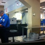 Airport security scanning
