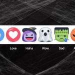 萬聖節應景!Facebook 推出骷髏直播面具、南瓜表情符號